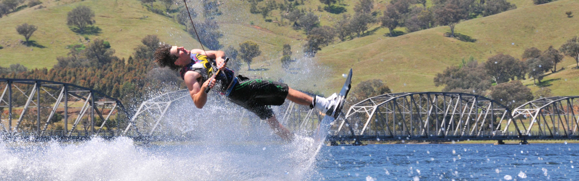 "<span style=""font-weight: bold; font-size: 3em;"">Enjoy the Ride</span> <span style=""font-weight: bold; font-size: 1.1em;"">Adventure Ski is a service based water sports business operating in the Albury Wodonga region featuring fun-packed, adrenaline based rides and entertainment. </span>"
